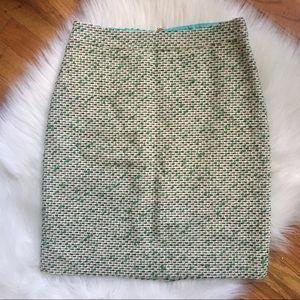 NWOT Kate Spade Judy Tweed Skirt
